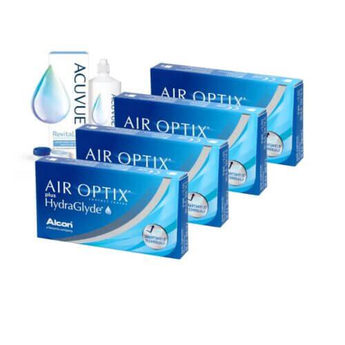 air optix plus hydraglyde 4 kutu kampanya