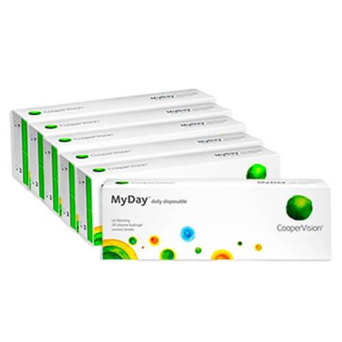 MyDay Kampanya 6 Kutu, günlük lens