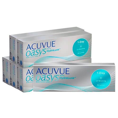 acuvue oasys 1 day kampanya, günlük lens