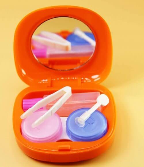 turuncu lens kabı
