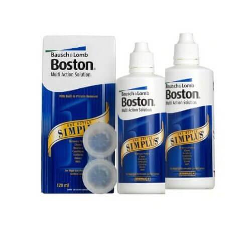 boston simplus sert lens solüsyonu