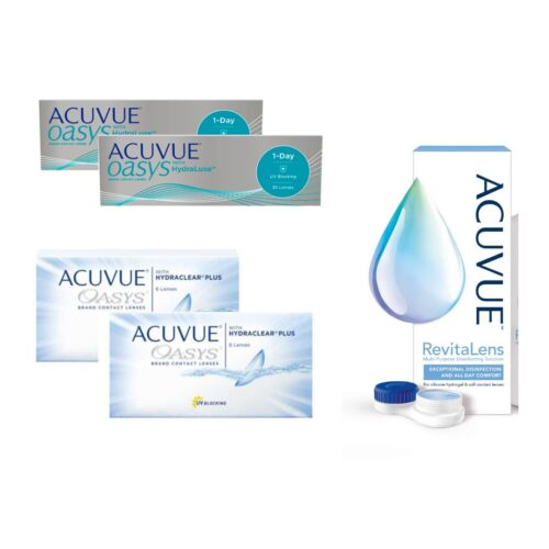 acuvue oasys + oasys 1 day