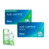 air optix aqua + air optix for astigmatism lens