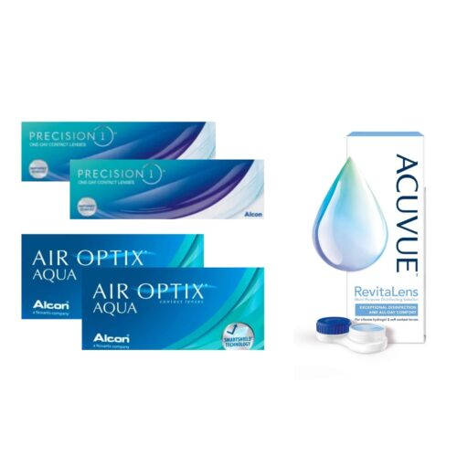 air optix aqua + precision 1