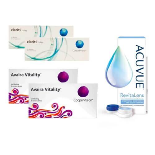 Avaira Vitality + Clariti 1 Day