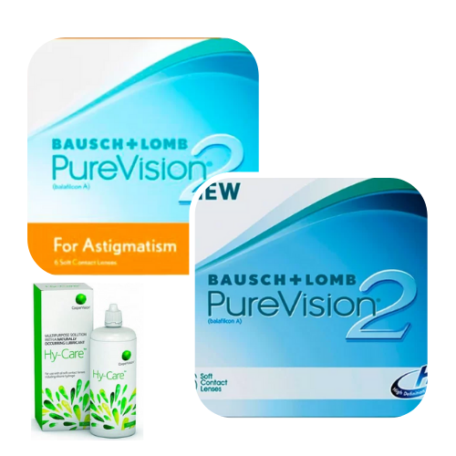 purevision 2 hd + purevision 2 hd for astigmatism