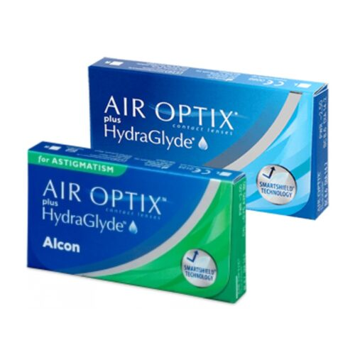 air optix plus hydraglyde + hydraglyde for astigmatism