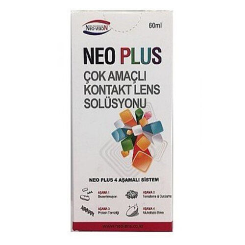 neo plus 60 ml lens solüsyonu